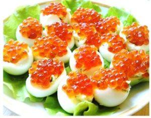Trứng cá hồi đỏ