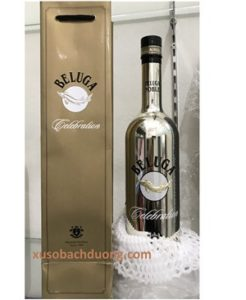 rượu beluga mạ bạc