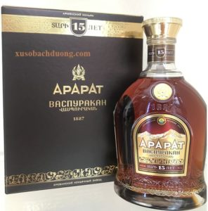 Rượu Ararat Vaspurakan 15 năm