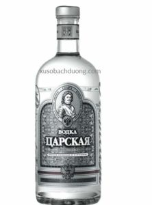 Rượu Vodka Sa Hoàng Bạc 1 lít