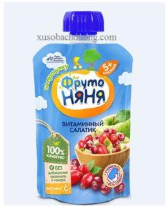 Hoa quả nghiền vitamin