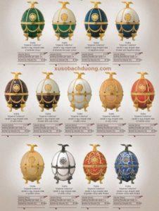 Giá rượu vodka trứng imperial faberge