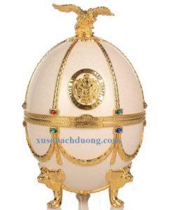 Rượu Vodka Imperial Faberge màu Trắng Bạc