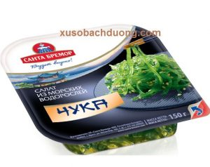 Rong biển Santa Bremor Seaweed Chuka 150g