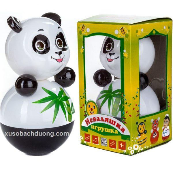 lật đật nga hình gấu trúc panda