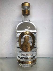 Rượu Vodka Sa Hoàng vảy vàng 700ml ( xách tay )