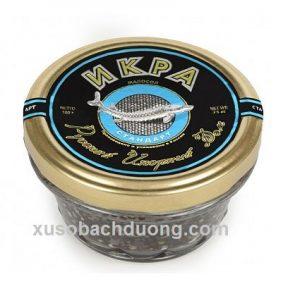 Trứng Cá Tầm Đen Caviar Russian 100g