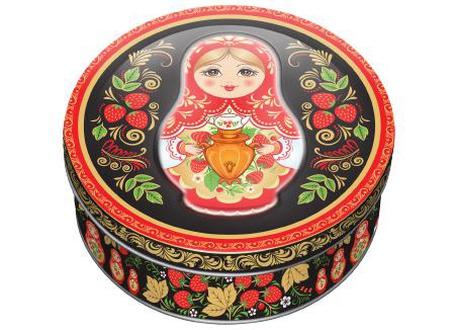 Bánh quy hộp sắt của Nga