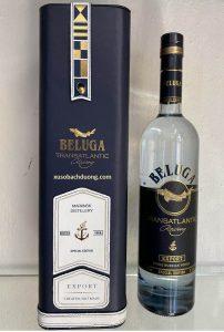 Rượu Beluga Xanh, Hộp Da Cao Cấp 2020
