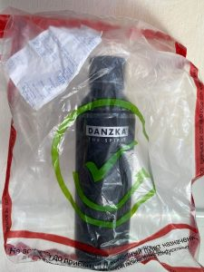 Rượu Vodka Danzka Đen The Spirt 1lit