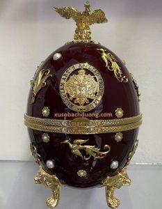 Rượu Vodka trứng Imperial Faberge Nâu mẫu mới