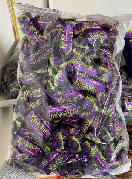kẹo tím kpokaht hạnh nhân nga 1kg