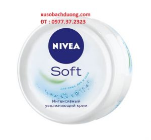 kem dưỡng ẩm chuyên sâu Nivea Soft 100ml