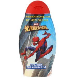 Dầu gội kết hợp sữa tắm 2 in 1 Spider Man