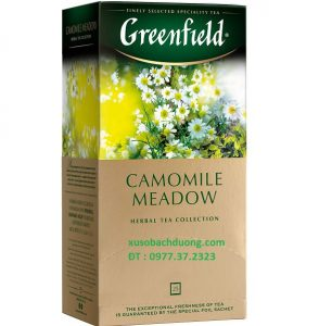Trà Nhúng Hoa Cúc Greenfield Camomile Meadow