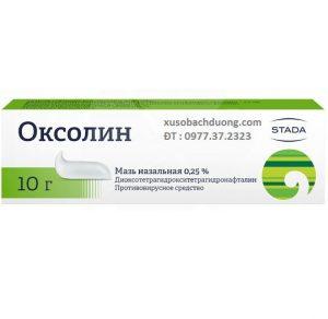 Oxoline bôi mũi chống virut cúm và viêm mũi
