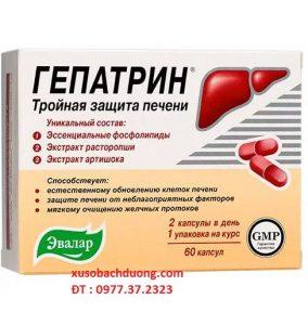 Viên uống bổ gan Chính Hãng Nga