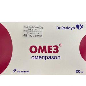 Thuốc Điều Trị Dạ Dày Omez Omeprazole