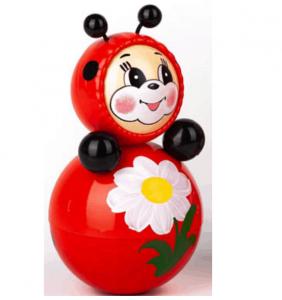 lật đật ong đỏ